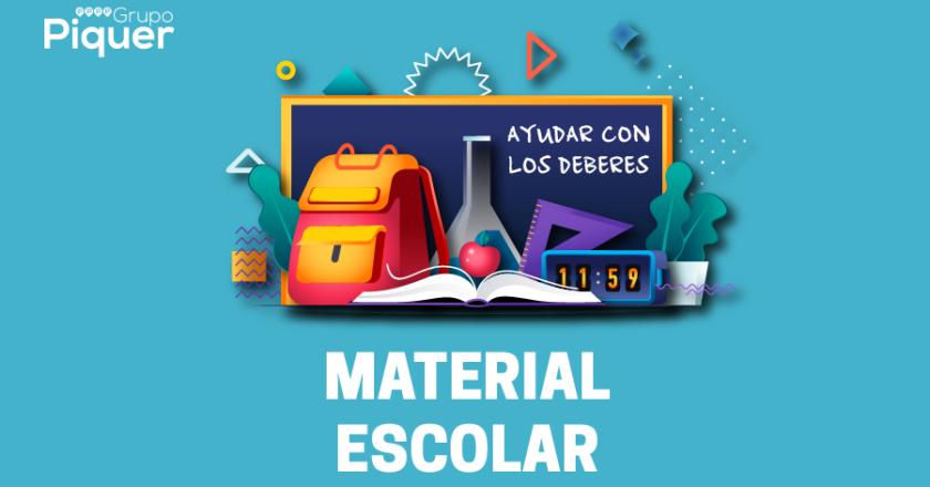 AYUDAR CON LOS DEBERES - MATERIAL ESCOLAR